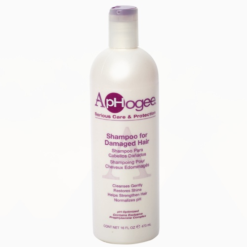 ApHogee Damaged Hair Възстановяващ шампоан за изтощена коса 473 мл