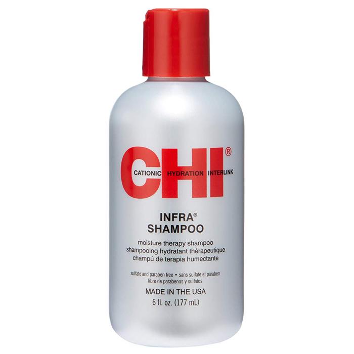 CHI INFRA Хидратиращ шампоан за третирани и сухи коси