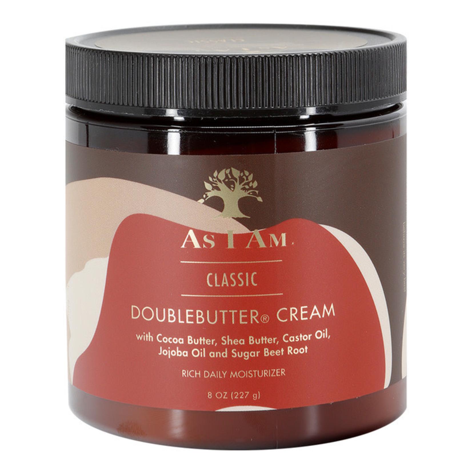 As I am  double butter  cream Двоен хидратиращ крем за къдрици    227 ml
