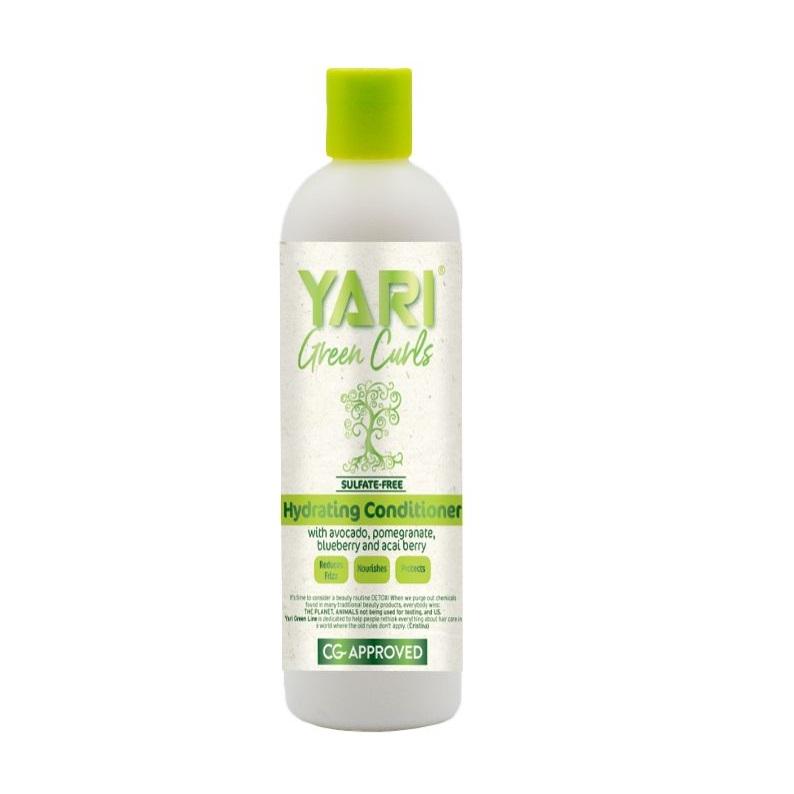 Yari green curls  conditioner Хидратиращ балсам за къдрава коса - 355 мл