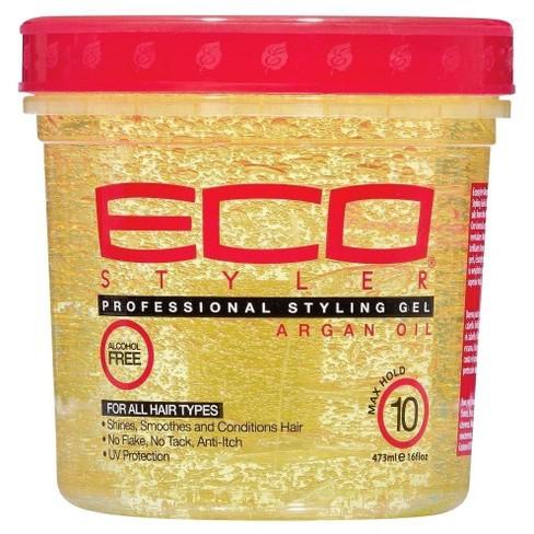 ECO Style Argan oil gel Стилизиращ гел за всички типове коси с Арганово масло 473 мл