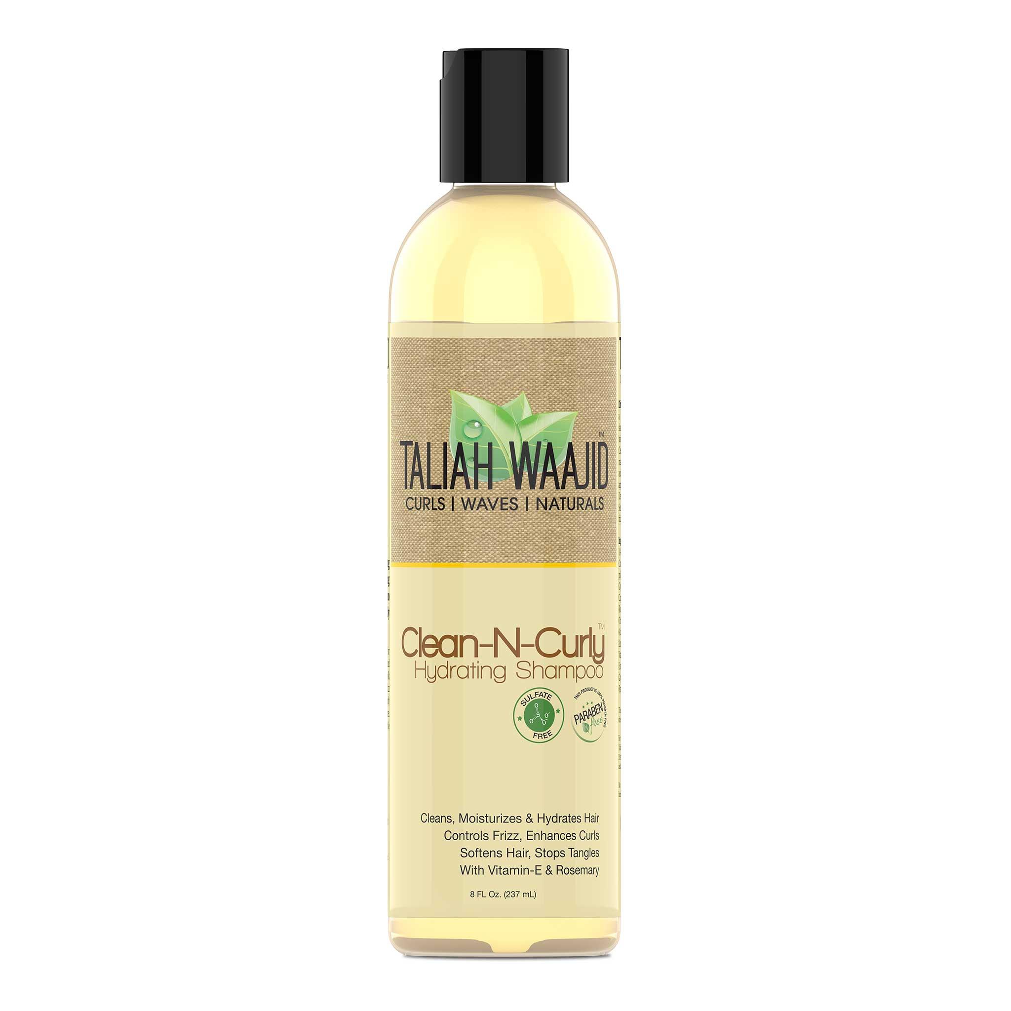 Taliah Waajid clean n curly shampoo Подхранващ почистващ шампоан за къдрава коса