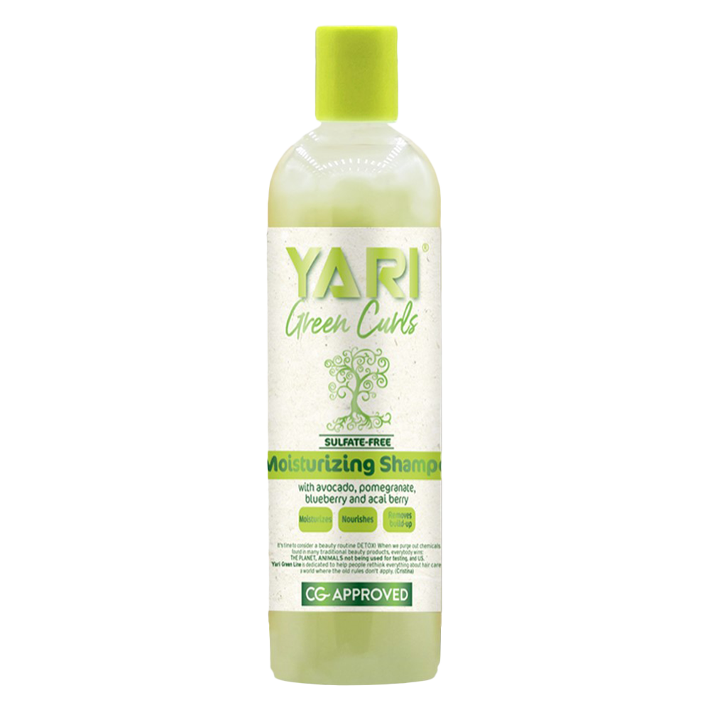 Yari green curls curl shampoo Хидратиращ шампоан за къдрава коса - 355 мл