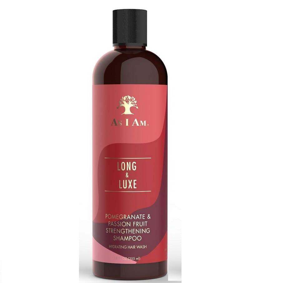 As I Am Long & Luxe – Укрепващ шампоан за къдрави коси тип 3 и 4