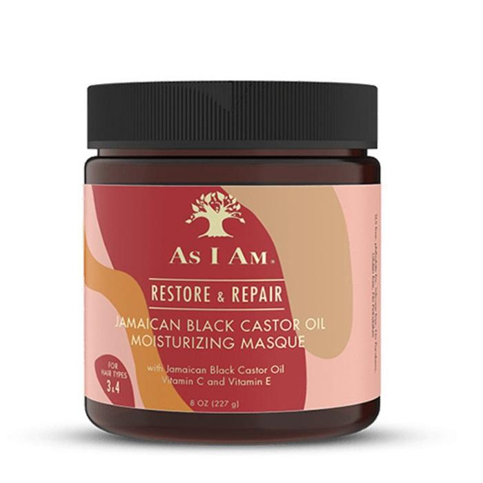 As i Am jamaican black castor oil mask Възстановяваща маска за къдрава коса 227 мл