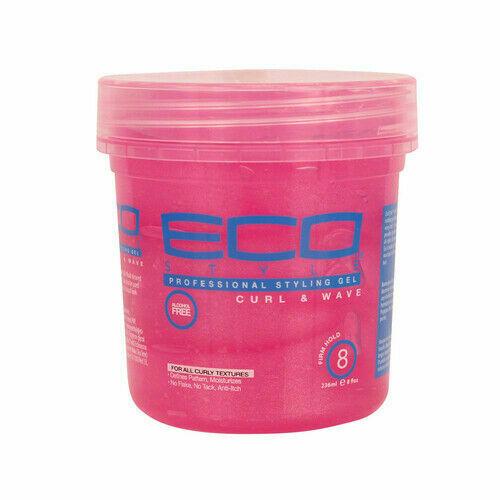ECO Style Curl & Wave Стилизиращ гел за къдрави и чупливи коси  473 мл