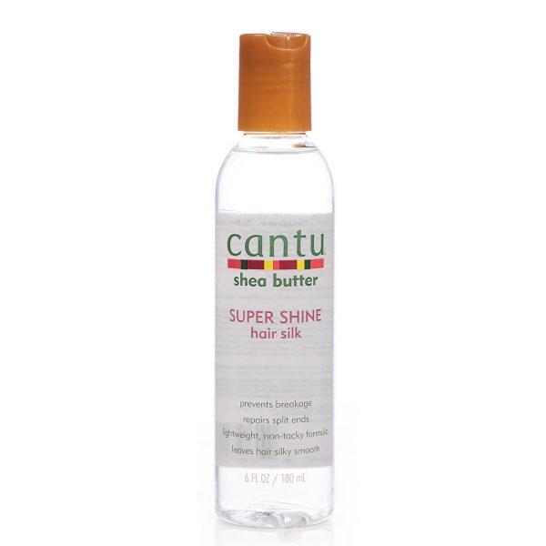 Cantu super shine hair silk  Коприна за супер блясък, ламиниране и изглаждане на косата 180 мл