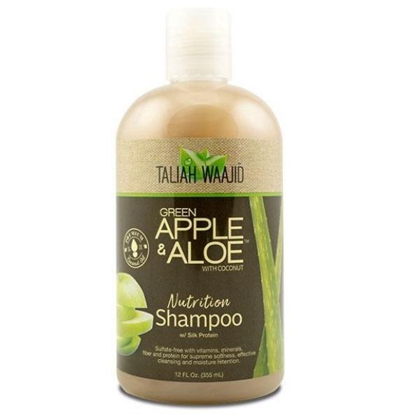 Taliah Waajid Green Apple & Aloe Подхранващ без сулфатен шампоан с Алое и Зелена ябълка  355 мл