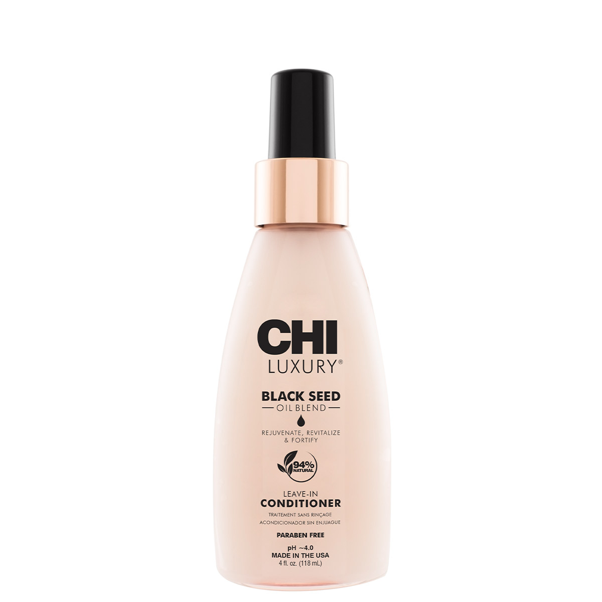 CHI Luxury Black seed oil Leav-in Балсам без изплакване с масло от черен кимион 118 мл